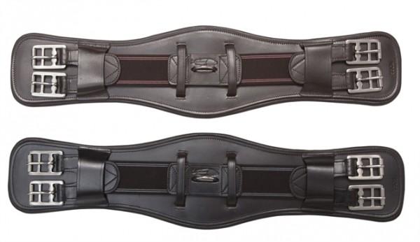 Dressuursingel Leder 35-85 cm