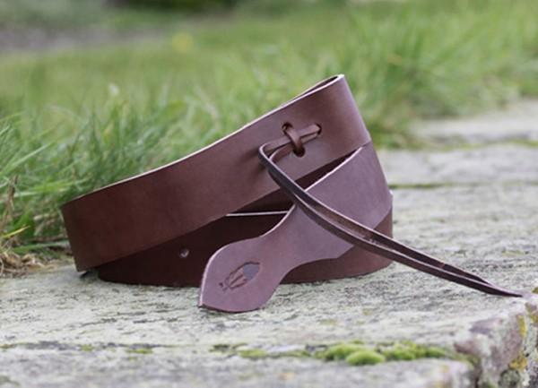 Tie-Strap van Latigo-Leder